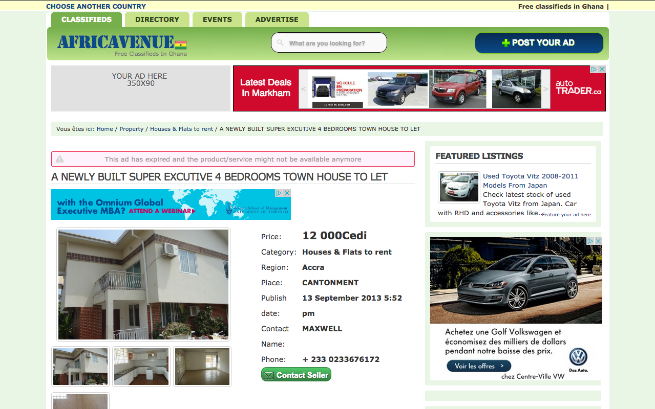 AFRICAVENUE : african online listings directory and city guide ...